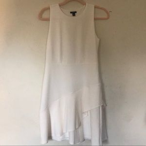 Ann Taylor petite white dress Size 4